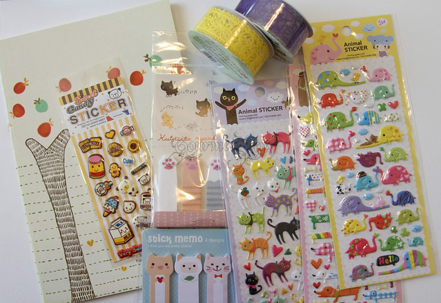 CoolPencilCase - Notebook, Stickers, Tabs, Tape