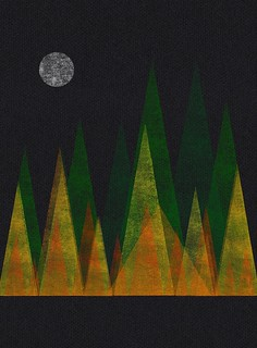 Full Moon/Autumn Forest