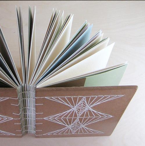 string art handmade journal