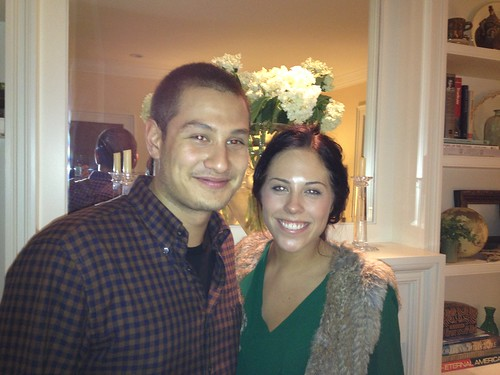 James Fukuhara and Jocelyn Wigley