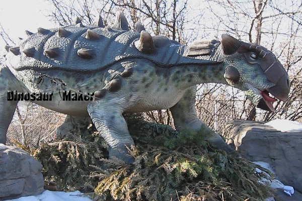 Waterproof Animatronic Dinosaur in the Outdoor
