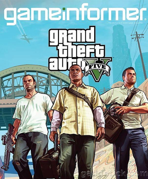 выход Grand Theft Auto 5
