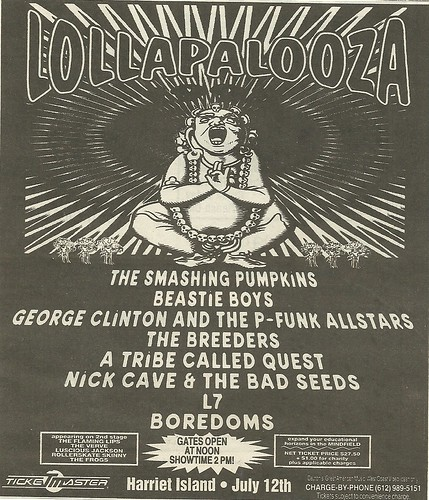 07/12/94 Lollapalooza 1994 @ Harriet Island, St. Paul, MN
