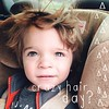 It's a crazy hair day for this little man ... and I love it!!! #vscocam #ABeautifulMess