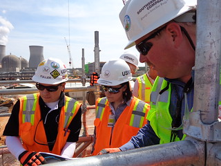 NRC Commissioner Svinicki visits Vogtle Construction SIte