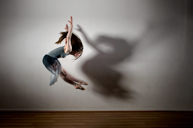Dancer and shadow