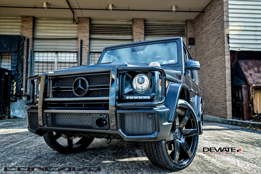 Mercedes benz g63 amg concavo cw 6 24 gloss black for How much is a mercedes benz g63
