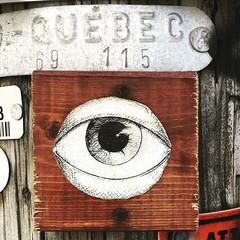 Un oeil sous Québec
