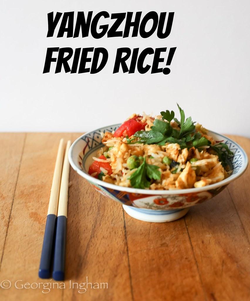 Yangzhou fried rice aka yeung chow fried rice culinary travels blog yangzhou fried rice aka yeung chow fried rice ccuart Image collections