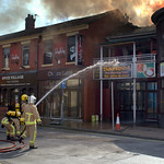 More pictures of the fire at Sandos, Preston - 7