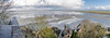Pano from Monte Saint-Michel