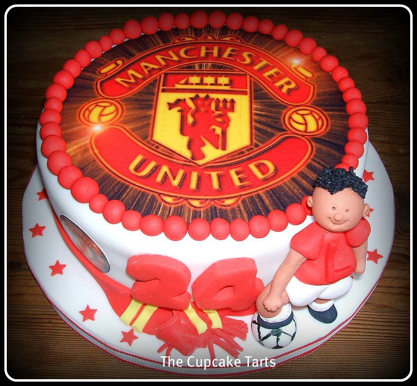 Manchester United Fan Mary Ordered This Cake For Her Brot Flickr