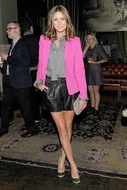 Olivia Palermo Pink Blazer Celebrity Fashion Style