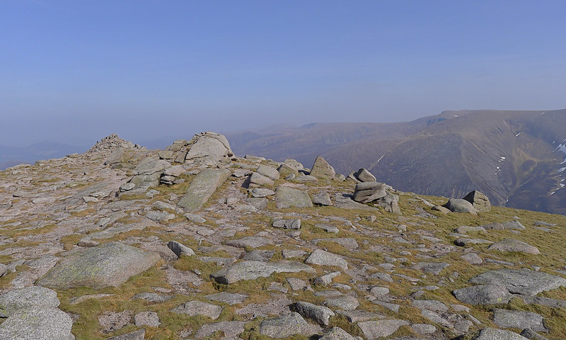 Summit of Sgoran Dubh Mor