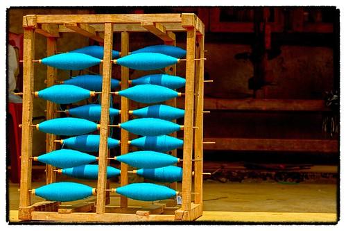 Spinning yarn in Lao Chi, Sapa