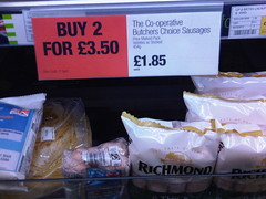 Co-Operative Butchers Choice Sausages