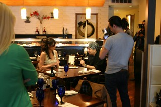 Montclair The Show Filming at Aozora with @melodykettle