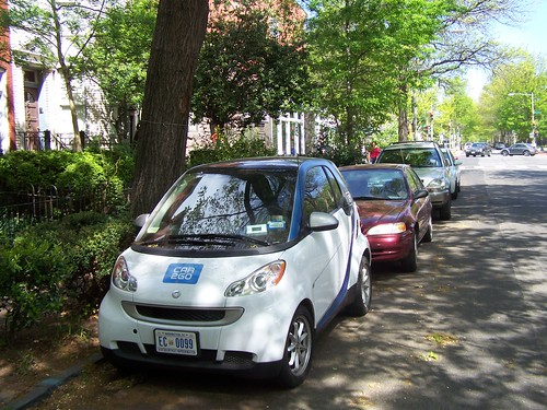 Car2Go on 3rd Street SE, Capitol Hill