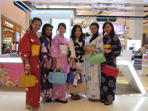 Girls Day Out! Yukata in Pavilion :)