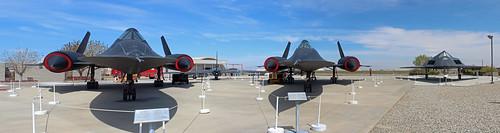 california u2 aircraft airplanes panoramic lockheed stitched palmdale a12 sr71 f117 blackbirdairpark