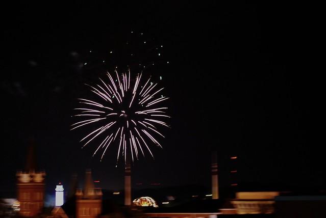 dogwood festival fireworks
