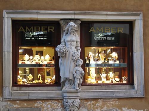 Amber Shop, Swietojanska Street, Warsaw