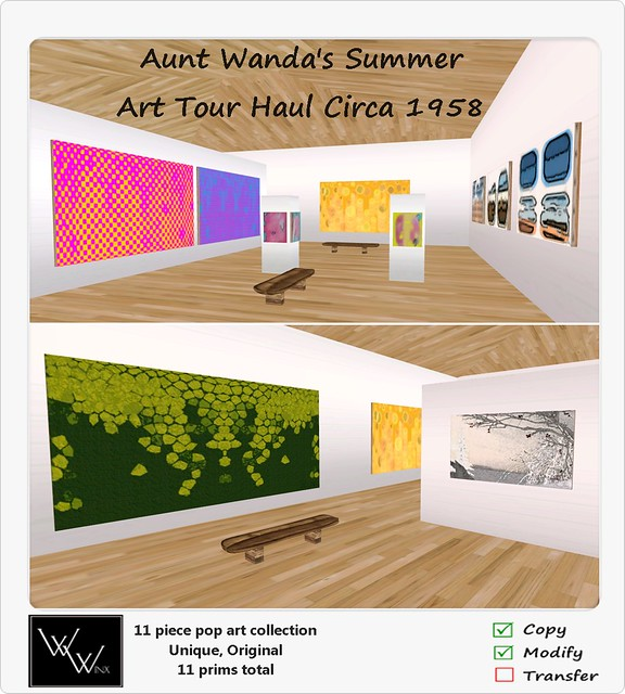W. Winx-Aunt Wanda's Summer Art Tour Haul