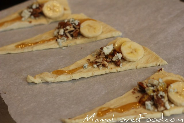 Banana Honey Crescents