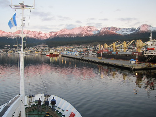 Ushuaia, Argentina - returning from Antarctica