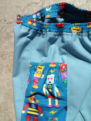 Robot Pants Pocket Detail
