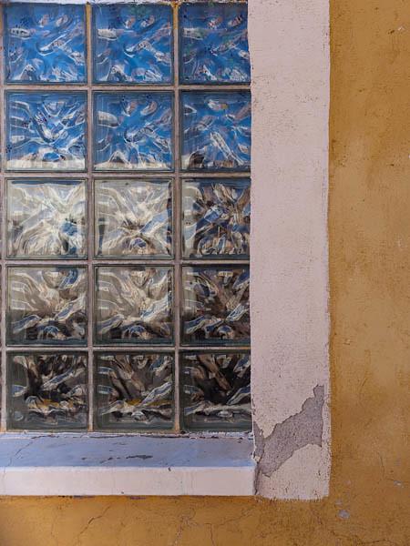 Teatro Carmen - Window and Reflection