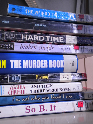2012-101 Book Spine Poem
