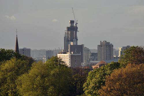 St George Tower from Brockwell Park