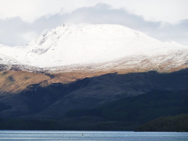 Snow Capped, Ben Lomond