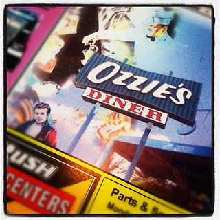 Ozzie's Diner. So cool!