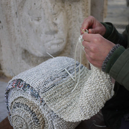 knitting by sculpture