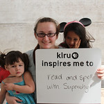 KLRU inspires me to ... read and spell with Superwhy!