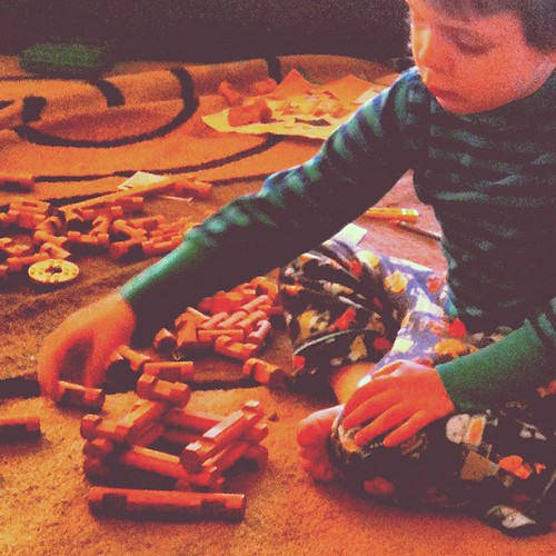 May 6. He bought Lincoln Logs with his birthday money.
