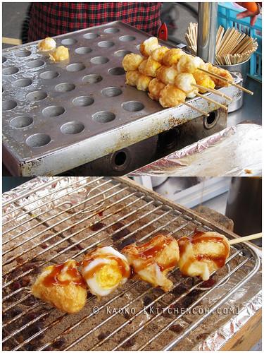Danshui Old Street - Quail Eggs