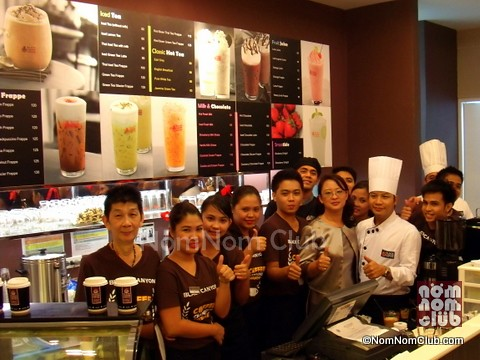 Black Canyon Coffee Philippine Team