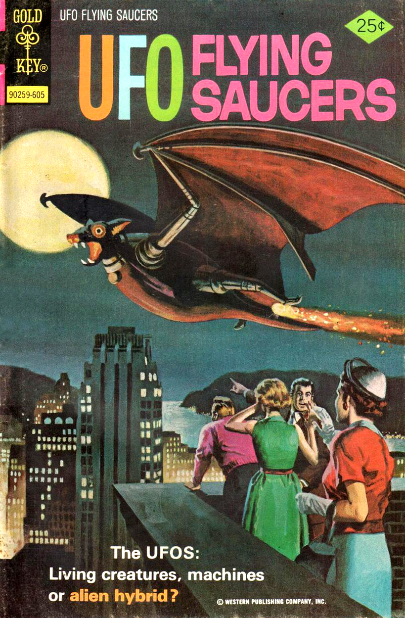 UFO Flying Saucers #10 (Gold Key 1976)