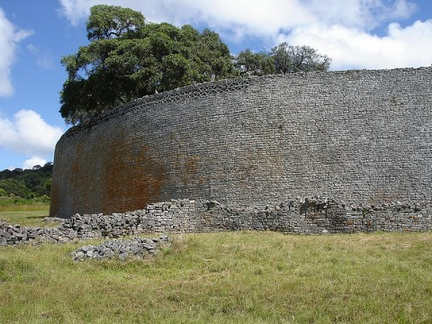 Monument known as the Great Wall of Zimbabwe built during the Mutapa Empire. A dispute between three traditional leaders has erupted over ownership of the historic treasure. by Pan-African News Wire File Photos