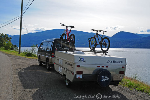 Yakima Roof Bike Rack System On Our Jayco 806 Pics