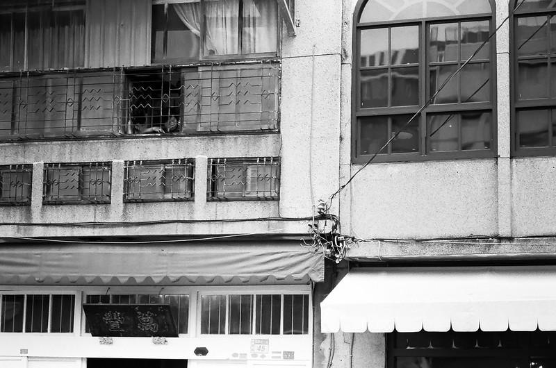A*85 府城漫步 (B&W)