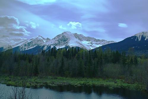 canada mountains britishcolumbia skeena viarail hudsonbaymountain tobogganlake