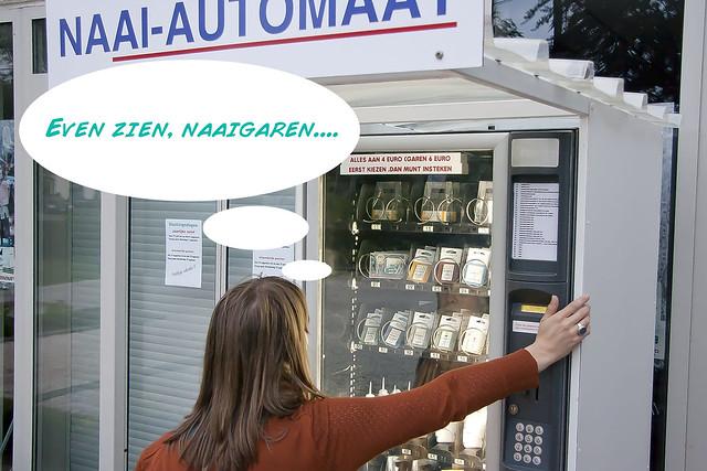 Natuurlijk, de naaiautomaat! 6