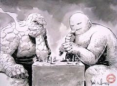 The Thing vs Concrete at Chess