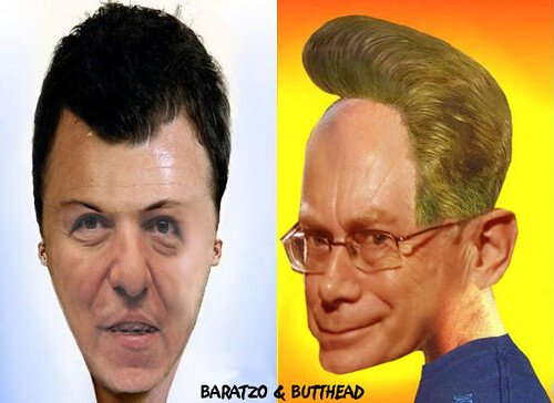 REALISTIC BARATZO AND BUTTHEAD by Colonel Flick