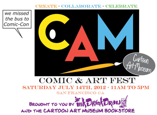 CAM Comic and Art Fest logo