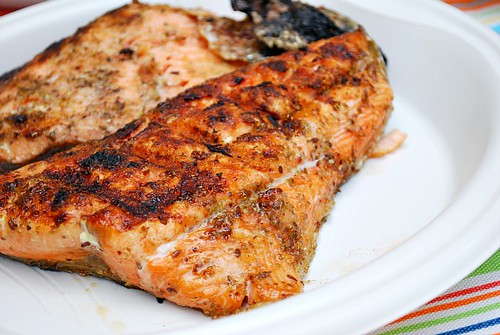 Salmon with Sweet & Spicy Rub